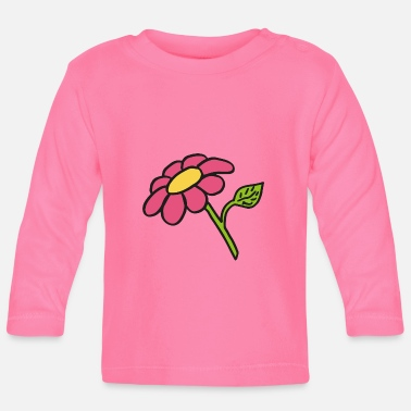 Clipart Clipart Blume - Baby Langarmshirt