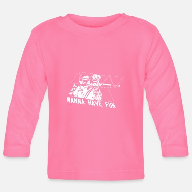 Paintball Paintball - T-shirt manches longues Bébé