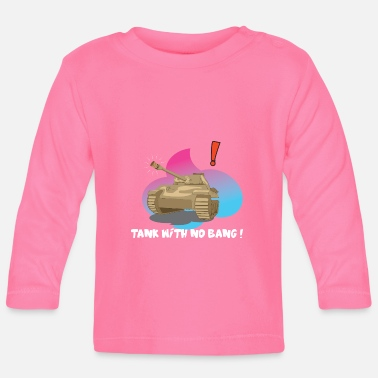 Truce World peace and truce with a cork - Baby Longsleeve Shirt