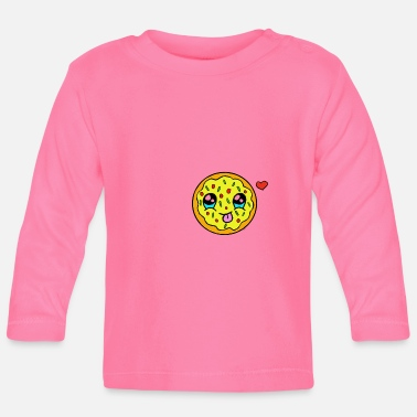 Pizza kawaii - Baby longsleeve