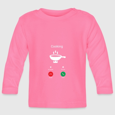 The kitchen calls - Baby Long Sleeve T-Shirt