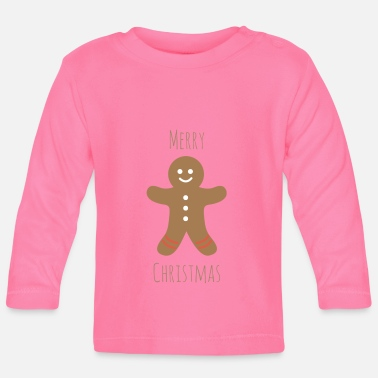 Gingerbread Man gingerbread man - Baby Long Sleeve T-Shirt