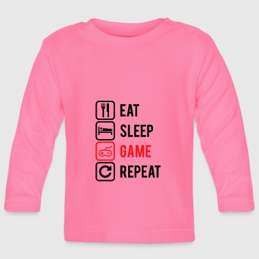 REPEAT GAMING - Baby Long Sleeve T-Shirt