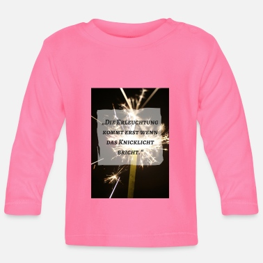 Enlightened Enlightenment - Baby Long Sleeve T-Shirt
