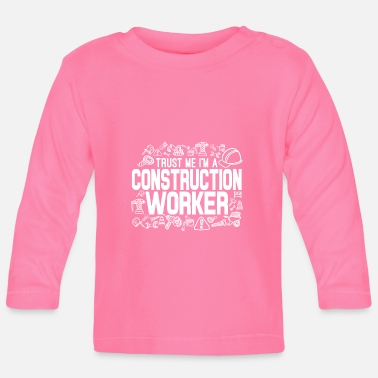 Worker Construction Worker - Baby longsleeve