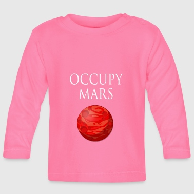 Occupy March Space - Baby Langarmshirt