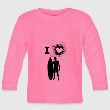ILove surfing - Baby Long Sleeve T-Shirt