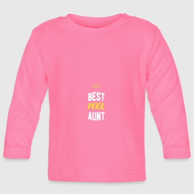 Distressed - BEST TANTE POOL - T-shirt manches longues Bébé