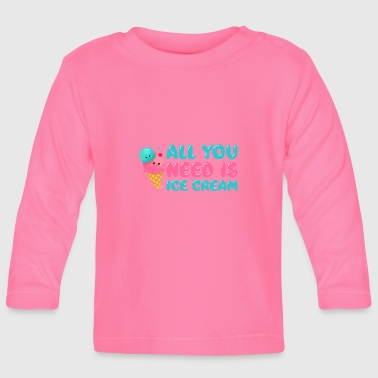 Ice Cream - Baby Long Sleeve T-Shirt