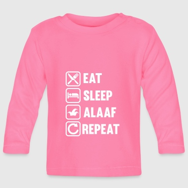 ALAAF - Eat Sleep Alaaf Repeat - Karneval Fasching - Baby Langarmshirt