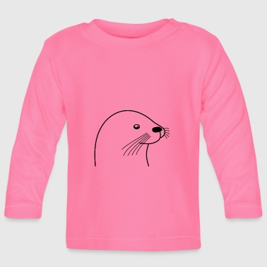 otter - Baby Long Sleeve T-Shirt