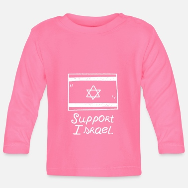 Tehran Support Israel - Gift Jerusalem Tehran idea - Baby Long Sleeve T-Shirt