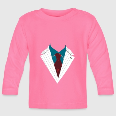 Suit suite Occasion dressed formally elegant - Baby Long Sleeve T-Shirt