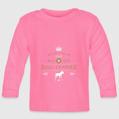 Bull Terrier Shirt - Baby Long Sleeve T-Shirt