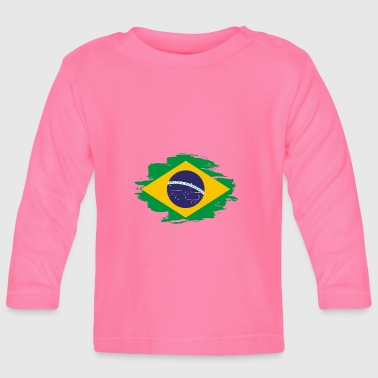 habitat flag love origin Brazil png - Baby Long Sleeve T-Shirt