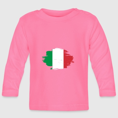 habitat flag love origin Italy png - Baby Long Sleeve T-Shirt