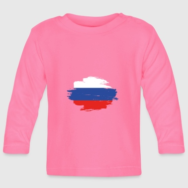 habitat flag love origin Russia png - Baby Long Sleeve T-Shirt