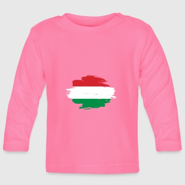 habitat flag love origin Hungary png - Baby Long Sleeve T-Shirt