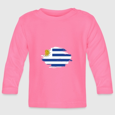 habitat flag love origin Uruguay png - Baby Long Sleeve T-Shirt
