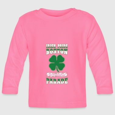 Desfile del Orgullo irlandés Boston St. Patricks Day - Camiseta manga larga bebé