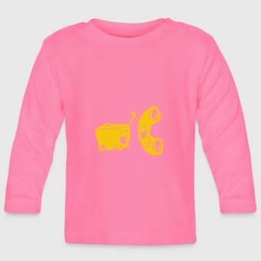 Mac Mac And Cheese Gift - Baby Long Sleeve T-Shirt