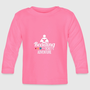 Read READING - READING - READING - BOOKSHOP - BOOKS - Baby Long Sleeve T-Shirt