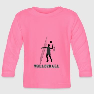 volley ball - Baby Langarmshirt