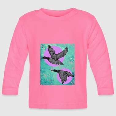 Ducks flight - Baby Long Sleeve T-Shirt