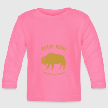 Native American Native Americans Native American bison - Baby Long Sleeve T-Shirt
