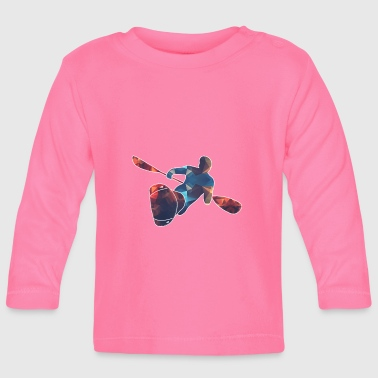 Kayaker / Whitewater - Baby Long Sleeve T-Shirt