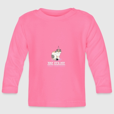 Exotic Exotic Shorthair - Baby Long Sleeve T-Shirt