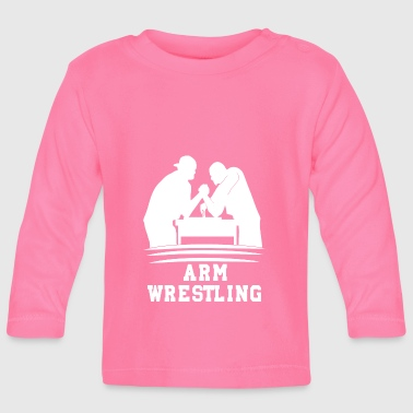 poor wrestling - Baby Long Sleeve T-Shirt