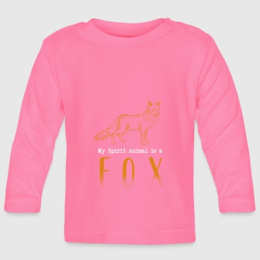 Spirit Animal Fox Spiritualist - Camiseta manga larga bebé