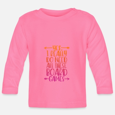 Board Game board games - Baby Long Sleeve T-Shirt