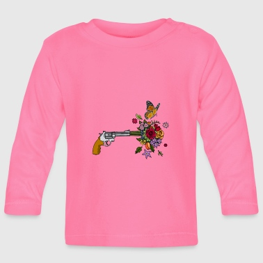 The revolver of peace - Baby Long Sleeve T-Shirt