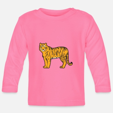Mature Mature handsome and magnificent tiger - Baby Long Sleeve T-Shirt