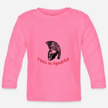 Sparta This is Sparta - Baby Langarmshirt