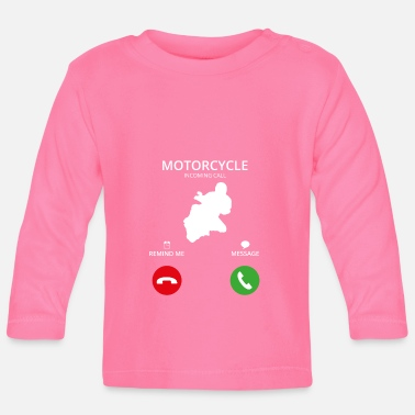 Mobile Phone Call Mobile Phone - Baby Longsleeve Shirt