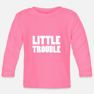 Little Italy Little Trouble - Baby Langarmshirt