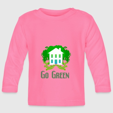 Green ecology - Baby Long Sleeve T-Shirt