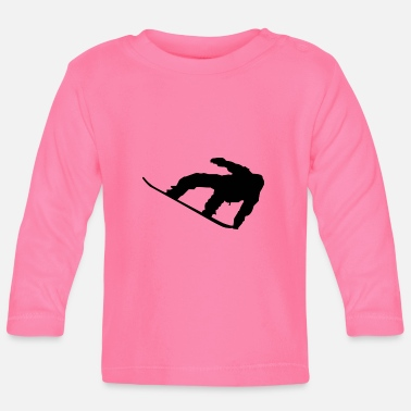 Sports snowboard - Baby Long Sleeve T-Shirt