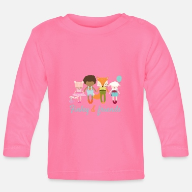 Finley and friends - Baby Langarmshirt