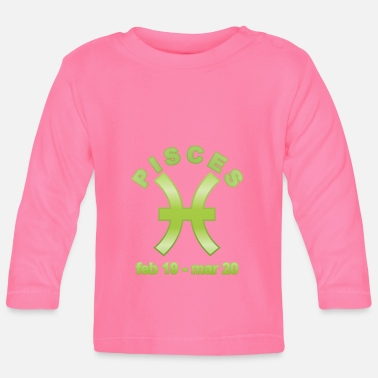 Horoscope Pisces Horoscope - Baby Long Sleeve T-Shirt