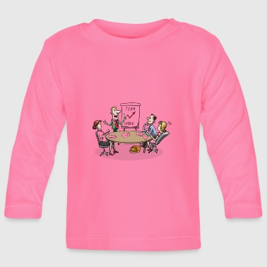Meeting Team meeting team meeting - Baby Long Sleeve T-Shirt