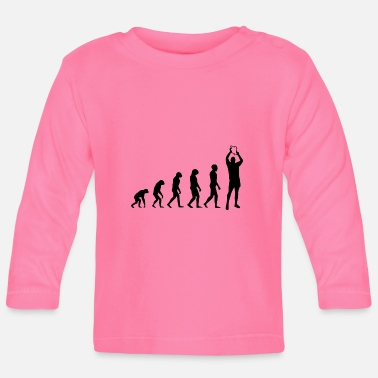 Darwin Evolution of a Champion - Baby Langarmshirt