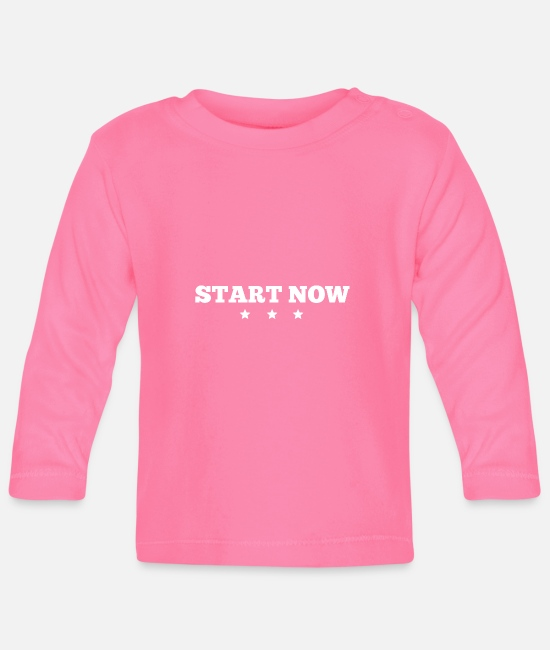 Training Baby Langarmshirts - Start now - Baby Langarmshirt Azalea