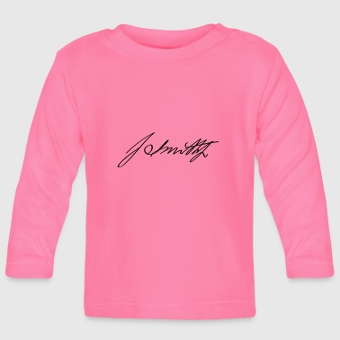 Joseph Joseph Smith Jr Signature - Baby Long Sleeve T-Shirt