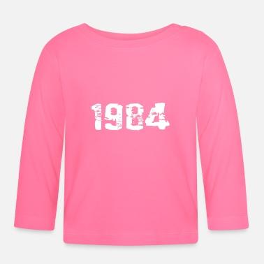 Pedir en línea Año De Nacimiento Camisetas de manga larga bebé ... 395dbc3d10c02