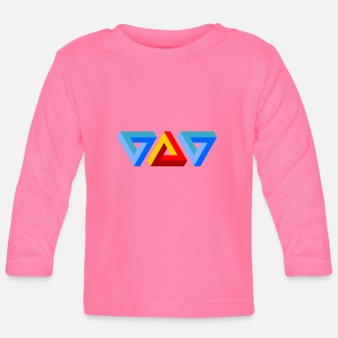Triangle triangles - T-shirt manches longues Bébé