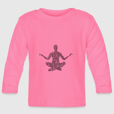 meditation - Baby Long Sleeve T-Shirt